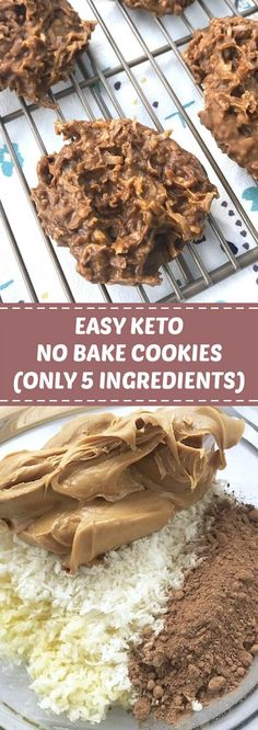 ★★★★★ 86 reviews: Easy Keto No Bake Cookies (Only 5 Ingredients)   These Chocolate & Peanut Butter Keto No Bake Cookies are my new go-to guilt-free treat! They're super easy to whip up (no cooking required) and you only need 5 simple real food ingredients. #keto #ketocookies #ketodessert   womanpedia.co