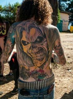 Bilderesultat for best heavy metal tattoo