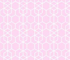 Geo Frame Pink by thistleandfox