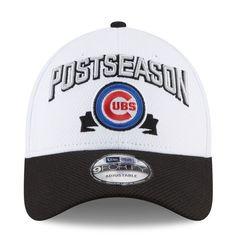 b76c5f887b9 Men s Chicago Cubs New Era White 2016 Division Series Winner Locker Room  9FORTY Adjustable Hat