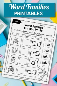 Loved and my students love even more!! So engaging! An easy to use when I am working with a small group. I use this literacy activity for my kindergarten students during distance learning. These phonics worksheets are no prep and are easy to use in the classroom or at home during homeschool. You can use the printables while teaching phonics or word families, the kids will have to write cvc words and find them in the word search. #phonicscenters #literacyactivities