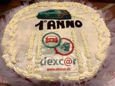 Festa del primo anno di attività. The Official cake.