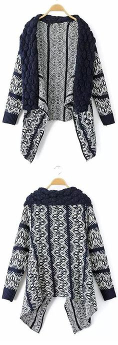 Catch it, Only $29.99 & Free Shipping .We love this knitting cardigan and irregular design make it so wonderful It will go with so many outfits. Take some fall essentials to your wardrobe at Romoti.com