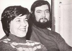 París, 1974. María Helena Walsh, Julio Cortázar. Foto de Sara Facio.