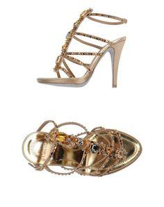 85ebd25e2e1 Rene  caovilla Women - Footwear - Sandals Rene  caovilla on YOOX Beige  Sandals