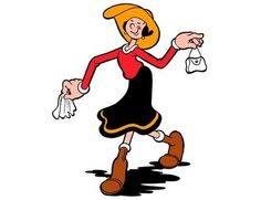 Olive Oyl Cartoon Character | Dandelions, Butterflies: Fashion Friday: Olive Oyl Edtion