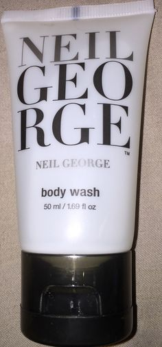 Neil George body wash travel size - unopened