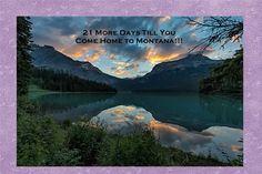 21 more days til you come home Emerald Lake, Land Scape, Trip Planning, Montana, Park, Amazing, Travel, Beautiful, Flathead Lake Montana