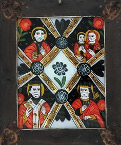 Christian Paintings, Naive Art, Religious Art, Cross Stitch Patterns, Folk, Frame, Glass, Models, Paint