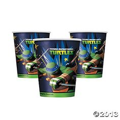TMNT 9oz. Party Cups