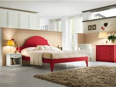 Wooden bedroom set EVERY DAY NIGHT Composition 16 by Callesella Arredamenti