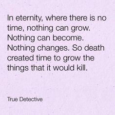 True Detective quote