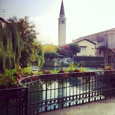Sacile, Italy Garden Pond, Ancient Ruins, Small Gifts, Big Ben, Places Ive Been, Rome, Contemporary, City, Italy