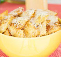 Aprenda a fazer uma receita super fácil de pastelzinho de ravioli para servir como petiscos para amigos e família