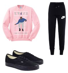 """""""Untitled #43"""" by brooklyen on Polyvore featuring NIKE and Vans"""