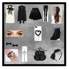 """"""":3 Mikaela :P"""" by isoulpancakes ❤ liked on Polyvore featuring H&M, SPANX, Kate Spade, Marc by Marc Jacobs, Amanda Rose Collection, Zero Gravity, women's clothing, women's fashion, women and female"""