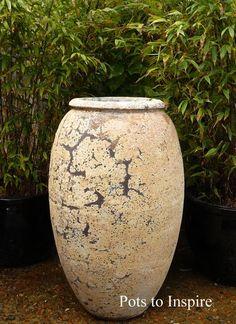 Atlantis Extra Large Water Jar Decor Vase   Woodside Garden Centre   Pots to Inspire Woodside Garden Centre, Decorated Jars, Olive Tree, Garden Pots, Garden Ideas, Vases Decor, Atlantis, Urn, Planter Pots