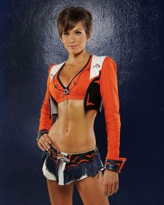 Cheerleader Sam Boik Broncos a Denver secret gorgeous