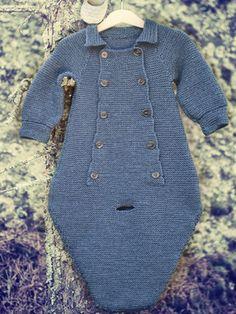 Vauvan neulehaalari Novita 7 veljestä | Novita knits