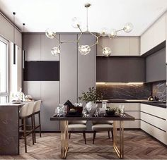 Modern Luxury Kitchens For A Grand Kitchen Kitchen Interior, Home Interior Design, Kitchen Decor, Living Room Tv, Living Room Kitchen, Kitchen Dining, Luxury Kitchens, Home Kitchens, Küchen Design