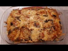 Μελιτζάνες φούρνου με πατάτες και τυρί!!! - YouTube Greek Recipes, Lasagna, Macaroni And Cheese, Meals, Vegetables, Ethnic Recipes, Youtube, Greece, Food