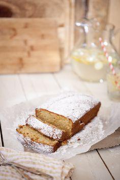 Lemon Vanilla Pound Cake via Chasing Delicious #recipe