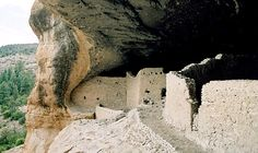 New Mexico - Photographs of Gila Cliff Dwellings National Monument