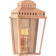 Mansion House is a tallish simply designed lantern that replicates the gas and oil lanterns of former times and would be ideal for Georgian, Regency and Victorian homes.