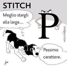 Stitch e i caratteri