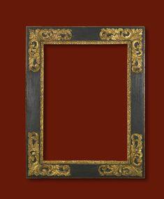 "Spanish 17th Century frame; 34 1/4"" x 25"" x 5 1/4"""