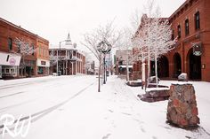 It was a perfect little snow storm last Monday. / www.rwongphoto.com  #arizona #flagstaff #snow #winter