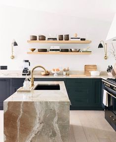 Finding so much #kitcheninspo in @annariflebond's STUNNING kitchen renovation. I absolutely adore the mix of earthy tones and textures and…