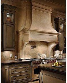 The Garibaldi Kitchen Range Hood- Francois & Co. - kitchen hoods and vents - atlanta - Francois & Co. Old world charm
