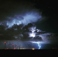 Amarillo, Texas. I shot this image on my birthday...what a gift that mother nature provided  #lightning #storms #stormchasers #stormscapes #tornadohunters #natgeo #windmill #windpower #nature #landscapes #windscape