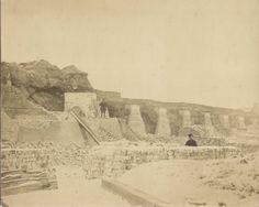 Het slechten van het bastion Ziekerpoort 1879