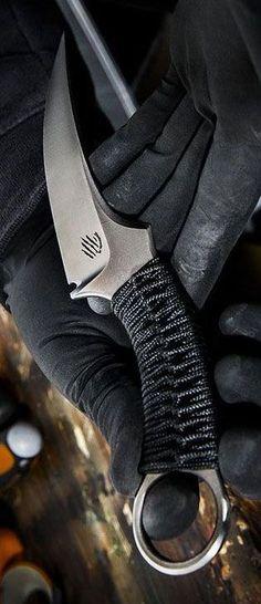 Bastinelli MAKO FIXED BLADE Black G10 Mako Fixed Knife #tacticalknife