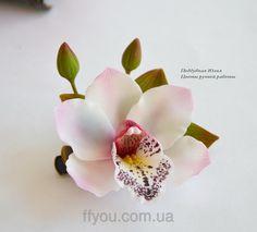 Орхидея (заколка-зажим), фото 3