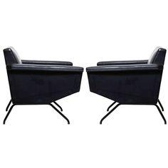 Pierre Guariche; 'Trelax' Armchairs for Meurop, 1950s.