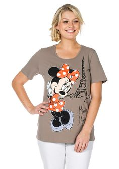Typ , Shirt, |Materialzusammensetzung , 95% Baumwolle, 5% Elasthan, |Ausschnitt , rund, |Ärmelstil , kurz, |Gesamtlänge , ca. 70 bis 78 cm, | ...