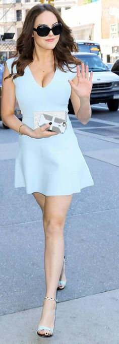 Elizabeth Gillies – out and About 22.06.15