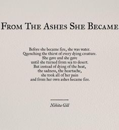 Image about quotes in Nikita Gill ✨ by Poem Quotes, Words Quotes, Life Quotes, Qoutes, Sea Quotes Tumblr, Success Quotes, The Words, Pretty Words, Beautiful Words