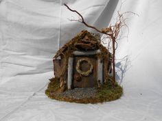 Hey, I found this really awesome Etsy listing at https://www.etsy.com/listing/151848564/the-pine-woods-faerie-home