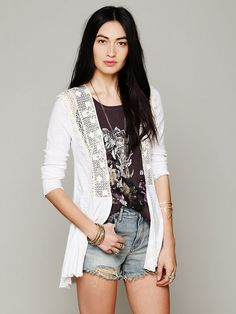 Free People Crochet Inset Cardigan http://www.freepeople.com/february-catalog-sneak-preview-3/lace-inset-cardi/