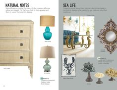 Trends: Natural Notes & Sea Life #hpmkt