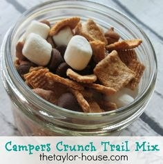 S' mores Trail Mix