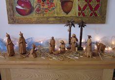 Nigerian Nativity Scene