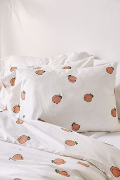 Slide View: 4: Peach Duvet Cover Set
