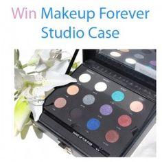 Win Makeup Forever Studio Case ^_^ http://www.pintalabios.info/en/fashion-giveaways/view/en/3478 #International #MakeUp #bbloggers #Giweaway