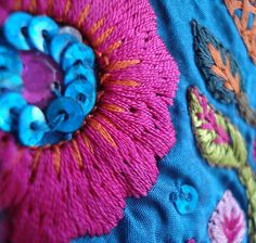 beautiful indian embroidery