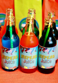 Jeepers Juice — maybe label Capri sun as keepers juice The post Scooby Doo Birthday Party appeared first on Paris Disneyland Pictures. 6th Birthday Parties, Boy Birthday, Birthday Ideas, Third Birthday, Themed Parties, Birthday Quotes, Birthday Gifts, Scooby Doo Halloween, Halloween Party